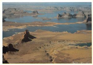 USA Lake Powell Utah Arizona Padre Bay Aerial view