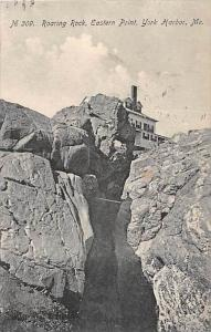 7040   ME York Harbor   Roaring Rock, Eastern Point,  Home at top