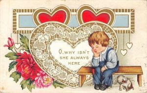 Valentine~Sad Boy~Sadder Puppy~Why Isn't She Always Here~Lace Heart~Whitney Made