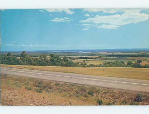Pre-1980 TOWN VIEW SCENE Berry Mills New Brunswick NB p9622