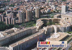 France Montpellier La Cle d'Antigone les Echelles de la Ville