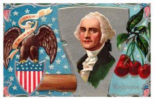 George Washington Potrait   Eagle