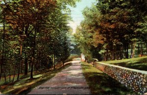 Connecticut Manchester Highland Park Road View 1911