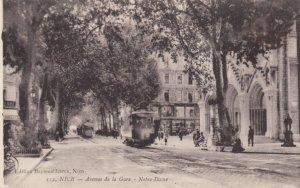NICE, France, 1900-10s; avenue de la Gare