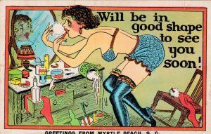 MYRTLE BEACH, South Carolina, 30-40s; Comical Greetings