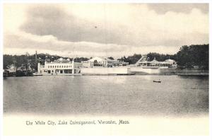 Massachusetts  Worcester  The White City Lake Quinsigamond
