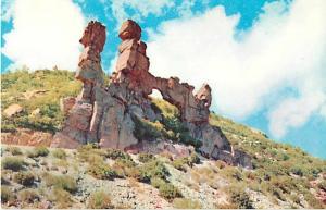 Natural Bridge Rock Formation along Mt Lemmon Highway near Tucson, AZ