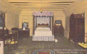 Florida Saint Augustine Upstairs Bedroom Oldest House