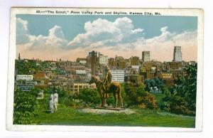 The Scout, Penn Valley Park, Kansas City, Missouri PPC