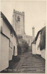 MINEHEAD , Somerset , England , 1910-30s ; Church Steps
