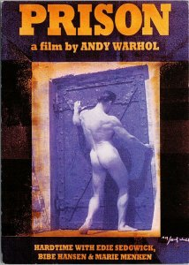 'Prison' Film Movie by Andy Warhol Reproduction Promo Unused Postcard C3