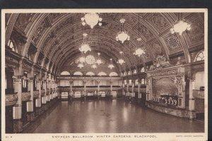 Lancashire Postcard - Empress Ballroom, Winter Gardens, Blackpool  RS2414