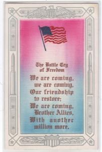 Battle Cry of Freedom - Cloth Background