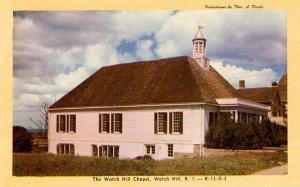RI - Watch Hill. Watch Hill Chapel