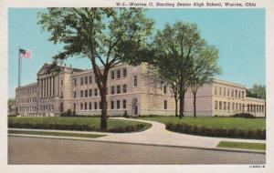 Ohio Warren Warren G Harding Senior High School Curteich