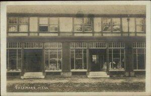 Sagamore Cape Cod MA BB Crosby Hardware Store 1909 Real Photo Postcard