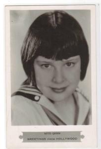 Mitzi Green Child Actress Movie Hollywood RPPC Real Photo postcard