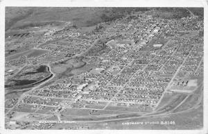 Susanville California~Aerial View of City~Eastman's Studio~1959 RPPC Postcard