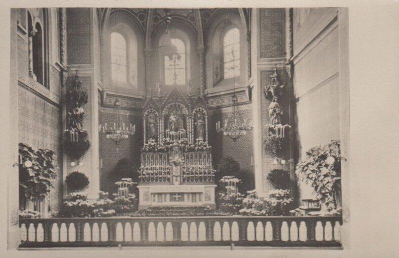 RP: Czech Republic , 1949 ; Church Interior