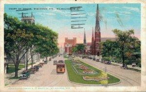 USA Court Of Honor Wisconsin Ave Milwaukee Wisconsin. 03.31