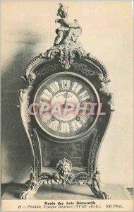 Old Postcard Musee des Arts Decoratifs Pendulum Era Regnece (XVIII Century)
