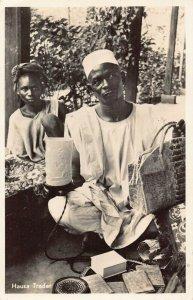 Ghana Gold Coast Hausa Trader natives RP Postcard