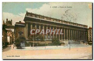 Old Postcard Lyon Courthouse