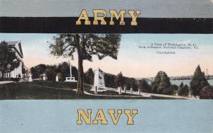 WASHINGTON D.C., 1906 ; Vista from Arlington Cemetery