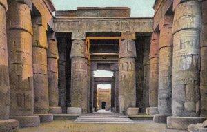 KARNAK, Egypt , 00-10s ; Entree de Temple