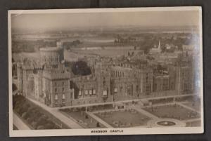 Aerial View Of Windsor Castle Taken From An Airco 9 Machine - Unused