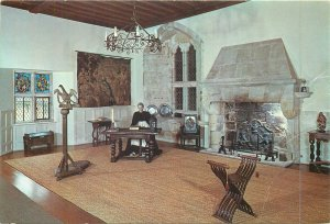 Postcard England Michelham Priory prior's room