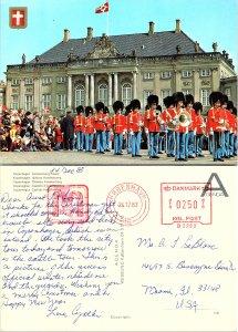 Copenhagen, Amalienborg Palace, Denmark