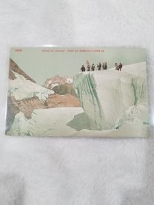 Antique Postcard entitled Seraos am Elsmeer - Bllok auf Wetterhorn (3703m)
