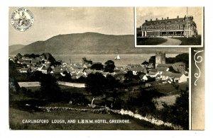 UK - Ireland, Greenore. Carlingford Lough & L&NW Hotel