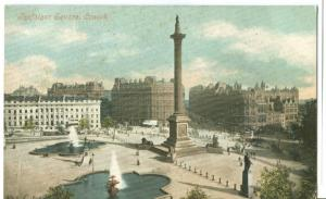 UK, London, Trafalgar  Square, early 1900s unused Postcard