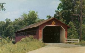 VT - North Bennington. Robison Covered Bridge