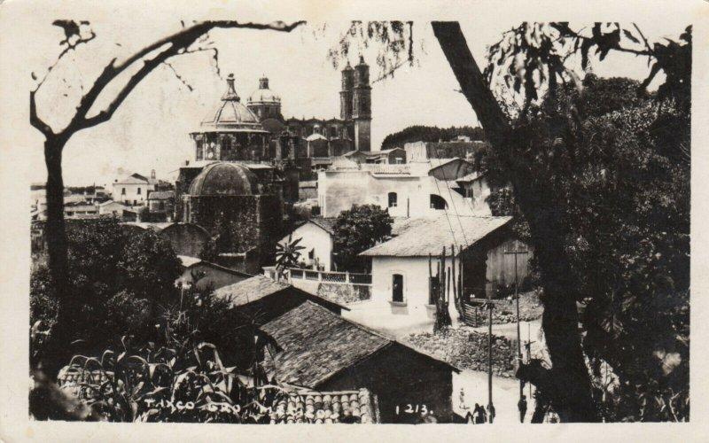RP: TAXCO Gro. - Mexico , 30-50s; Bird's Eye View