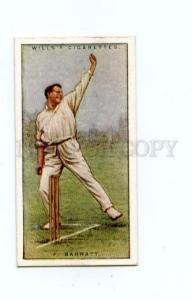 166950 Fred BARRATT played first-class cricket CIGARETTE card