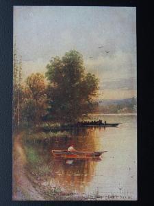 Norfolk A QUIET NOOK c1905 Postcard by Hildesheimer 5290