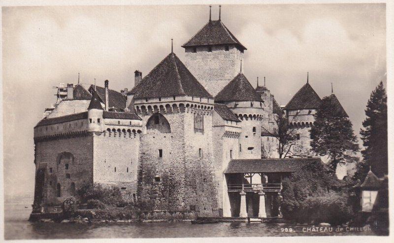 RP; VAUD, Switzerland, 1920-1940s; Chateau De Chillon