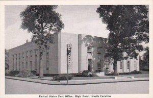 North Carolina High Point United States Post Office Albertype