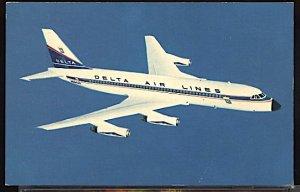 Aviation Airplane Delta Airlines Convair 880 Jetliner