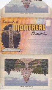 Folder Postcard , MONTREAL , Quebec , 30-40s