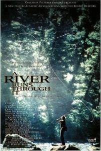Postcard of A River Runs Through It Movie