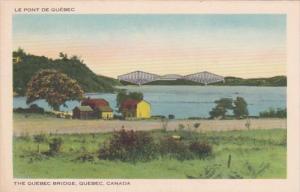 Canada Quebec The Quebec Bridge
