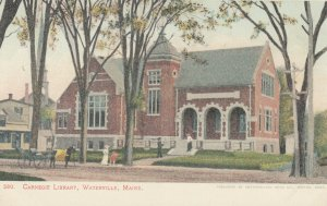 WATERVILLE , Maine , 1901-07 ; Carnegie Library