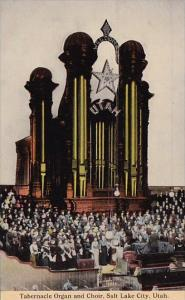 Utah Sait Lake City Tabernacle Organ And Choir