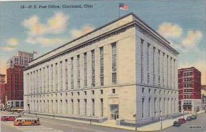 Ohio Cincinnati U S Post Office 1945