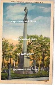 Morgan Memorial Monument, Batavia NY