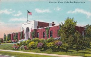 Iowa Fort Dodge Municipal Water Works Curteich